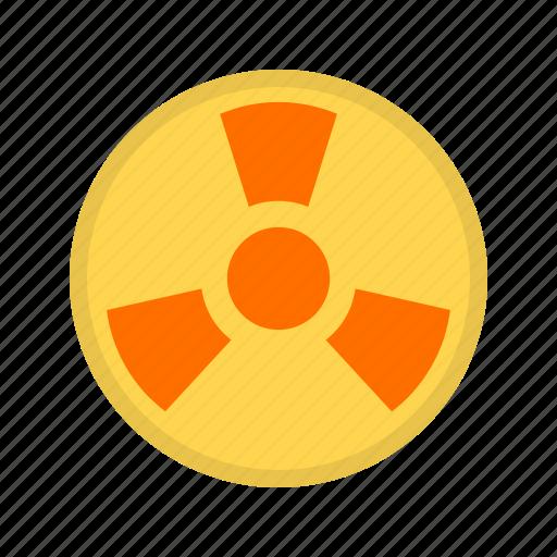 danger, radioactive, safety, sign, toxic, warning, zone icon