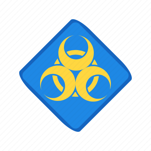 disease, epidemic, hazard, health, sign, toxic, virus icon