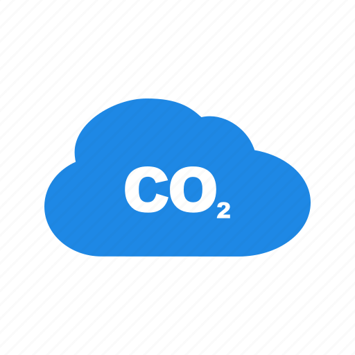 carbon, dioxide, gas, global, pollution, smoke, warming icon