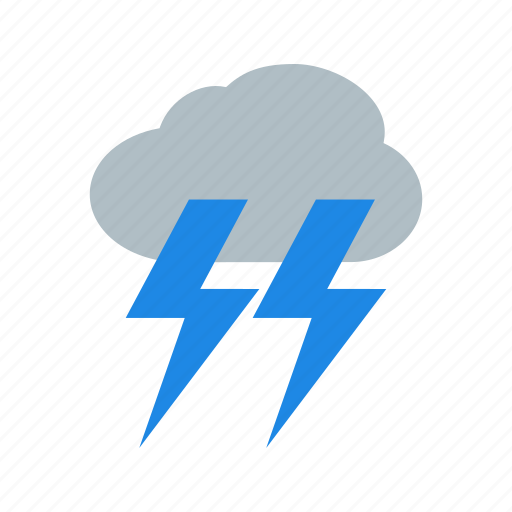 lightning, rain, sky, storm, stormy, thunderstorm, weather icon