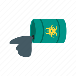 disaster, explosion, fire, gas, leak, tank, truck icon