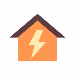 danger, electricity, high, sign, voltage, warning, zone icon