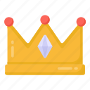 crown, headgear, royalty, nobility, royal crown, headwear icon