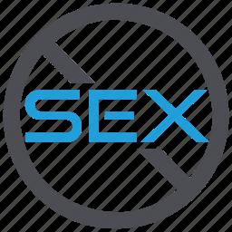contraceptives, no sex, protection, sexual disorder icon