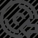 disc, disk, previous, storage icon