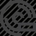 disc, disk, remove, storage icon
