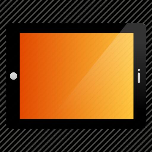 apple, ipad, tablet, yosemite icon