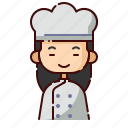 avatar, baker, chinese, diversity, girl, people, profession