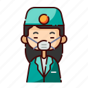 avatar, chinese, dentist, diversity, girl, people, profession