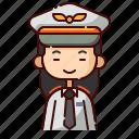 avatar, chinese, diversity, girl, people, pilot, profession