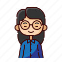 avatar, chinese, diversity, girl, people, profession, teacher
