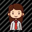 avatar, diversity, employer, female, girl, people, profession