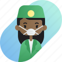 african, avatar, dentist, diversity, girl, people, profession icon
