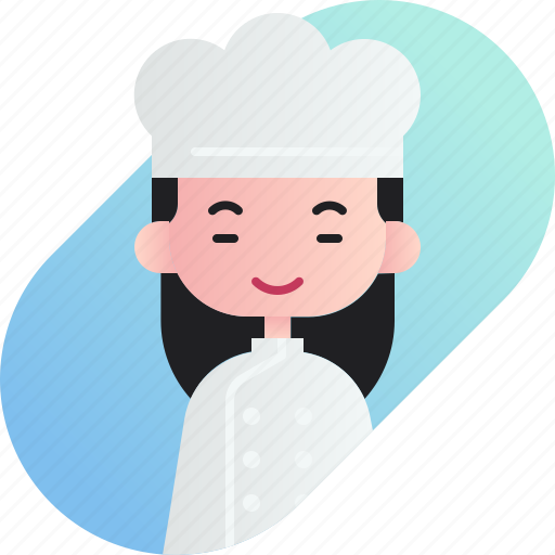 avatar, baker, chinese, diversity, girl, people, profession icon