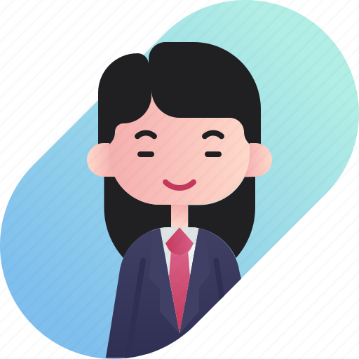 avatar, businessman, chinese, diversity, girl, people, profession icon