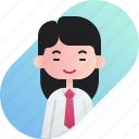 avatar, chinese, diversity, employer, girl, people, profession icon