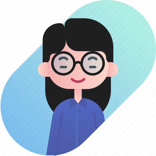 avatar, chinese, diversity, girl, people, profession, teacher icon