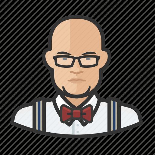asian, avatar, bartender, hospitality, male, man, user icon