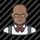 avatar, bartender, hospitality, male, user icon