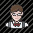 avatar, woman, bartender, user, hospitality, female