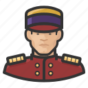 asian, avatar, bellhop, hospitality, hotel, male, man, user icon