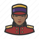 avatar, user, hospitality, bellhop, female, hotel