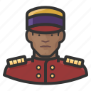 avatar, bellhop, hospitality, hotel, male, man, user