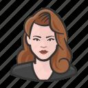 avatar, big hair, female, redhead, user, woman