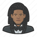 avatar, formal, user, dreadlock, tuxedo, man, male