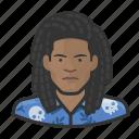 avatar, dreadlock, hawaiin, male, man, user