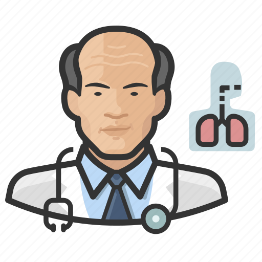 Asian, avatar, cardiopulmonologist, doctor, male, man, user icon - Download on Iconfinder