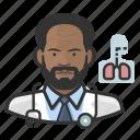 avatar, cardiopulmonologist, doctor, male, man, user icon