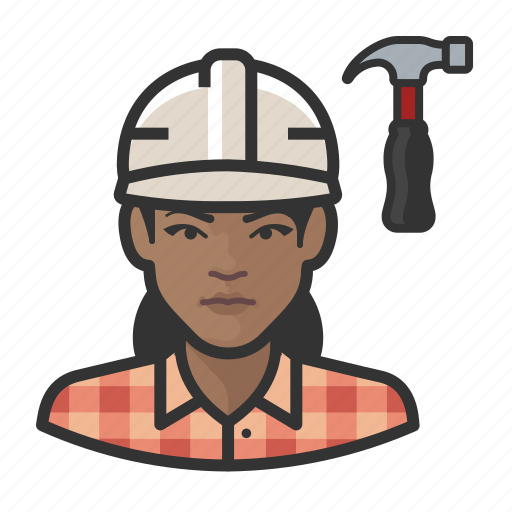 Avatar, carpenter, female, user, woman icon - Download on Iconfinder