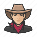 avatar, asian, woman, bandita, user, cowhand, female
