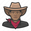 avatar, bandito, cowhand, male, man, user