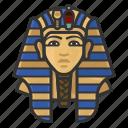 avatar, tutankamen, man, king, user, egypt, pharaoh