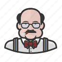 avatar, boss, cigar, fat, male, man, user icon