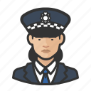 asian, avatar, officer, police, scotland yard, user, woman