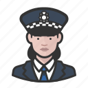 avatar, officer, police, scotland yard, user, woman