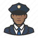 avatar, cop, male, man, officers, police, user icon