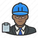 avatar, building inspector, hardhat, male, man, user