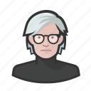 artist, avatar, celebrity, user, warhol