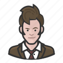 avatar, celebrity, david tennant, doctor who, user icon