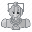 avatar, celebrity, cyberman, doctor who, robot, user, whovian icon