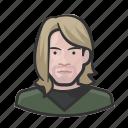 avatar, celebrity, grunge, kurt cobain, musician, nirvana, rocker, user icon