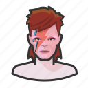 avatar, ziggy stardust, musician, rockstar, david bowie, user, celebrity