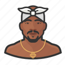 avatar, celebrity, musician, rapper, singer, tupac, user