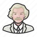 avatar, user, celebrity, author, twain, writer, american