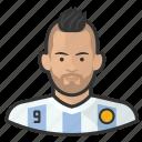 aguero, argentina, avatar, footballer, soccer, user
