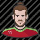avatar, footballer, gareth bale, soccer, user, wales